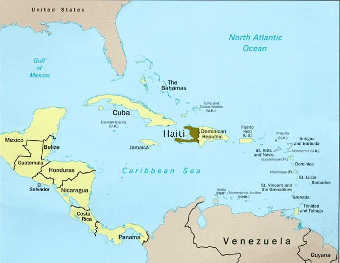 Map of Haiti Republic of Haiti Maps